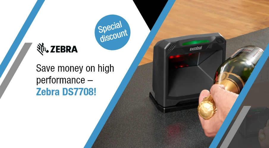Professional on-counter scanner now even more competitive!