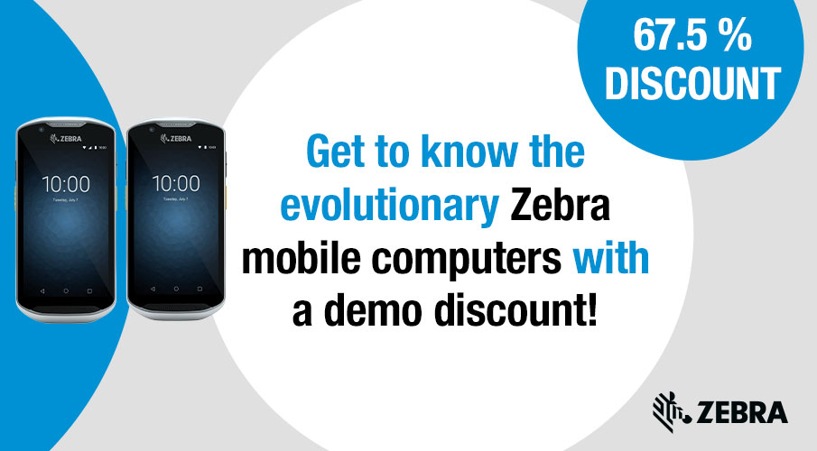 Convince your customers with the latest Zebra mobile computers!
