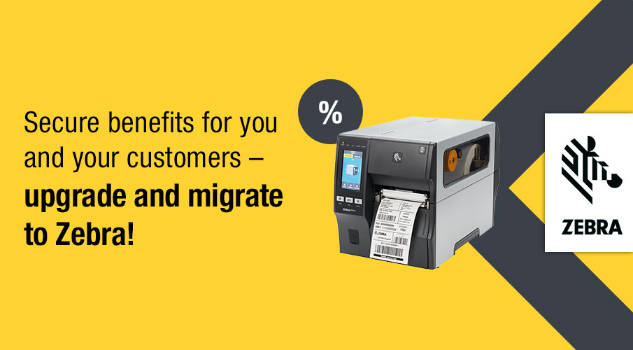 Replace discontinued printers now and benefit from Zebra's special pricing!*